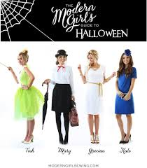 homemade halloween costume ideas girls merrick u0027s art style sewing for the everyday girldiy friday 4