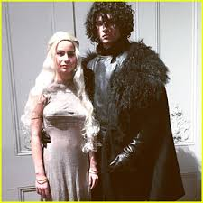 Games Thrones Halloween Costumes Ansel Elgort U0026 Violetta Komyshan U0027game Thrones U0027 Themed