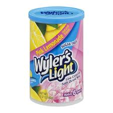 wyler s light singles to go nutritional information wyler s light sugar free low calorie soft drink pink lemonade from