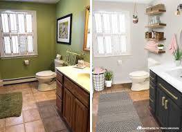 bathroom update ideas real life rooms a simple and cost effective bathroom update