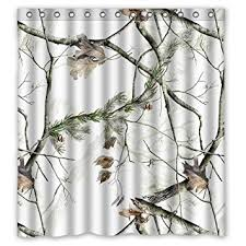 Realtree Shower Curtain White Realtree Camo Shower Curtain 66 Inch By 72 Inch