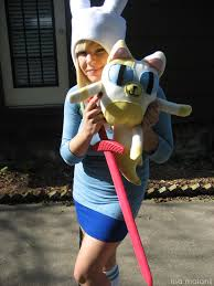 Adventure Halloween Costume Costume Diy 001 U2013 Adventure Fionna U0026 Cake Costume