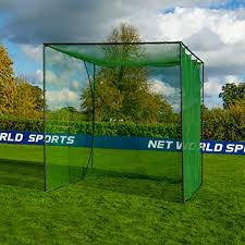 Backyard Driving Range Golf Cage Home Driving Range Net Practice Your Golf Safely From