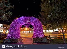 the iconic antler arches mark the four corners of the town square