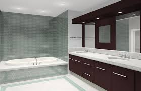 Contemporary Full Bathroom With Limestone Counters Built In - Bathroom design sydney