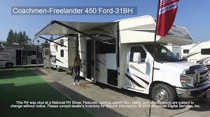 coachmen class c motorhome floor plans coachmen freelander 450 ford 31bh youtube