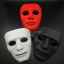 cheap masks hip hop masks party mask plastic plain thick mask