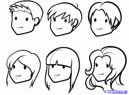 how to draw faces for kids step by step people for kids for