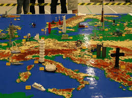 European Map Game by A Giant Lego Map Of Europe Gizmodo Australia