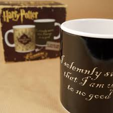 Harry Potter Marauders Map Harry Potter The Marauder U0027s Map Heat Changing Mug Retro36