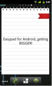 android notepad easypad looking notepad app with home screen widgets android