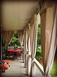 Sun Porch Curtains Sunroom Idea Sun Porch Curtains Outdoor Porch Curtains Drop Cloth