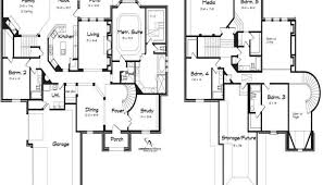 5 bedroom floor plans 2 story 5 bedroom house plans 2 story luxamcc org