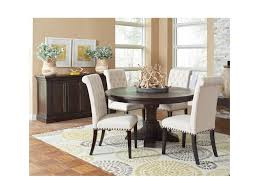 casual dining room sets coaster weber casual dining room with upholstered chair