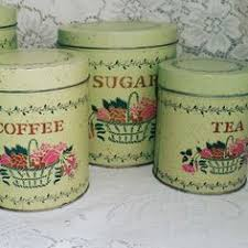 tin kitchen canisters tin nesting pink green and pink kitchen canisters canister set