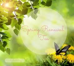 spring renewal tea elizabethology