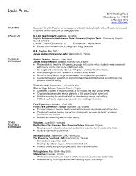 exles of resumes for teachers resume sle resumes elementary school nursery india