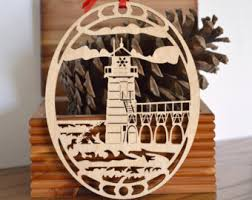 lighthouse ornament etsy