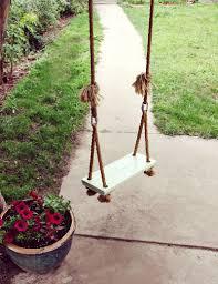 make your own tree swing u2013 a beautiful mess