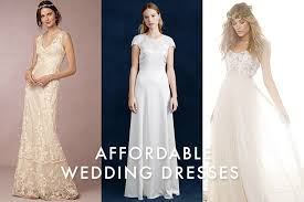 Affordable Wedding Dress Affordable Wedding Dresses Bridal Looks For Under 1 000