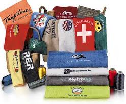 custom embroidered monogrammed and bath towels for corporate