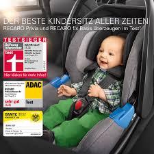 meilleur siege auto groupe 0 1 crash test recaro privia élu meilleur siège auto par le stiftung warentest