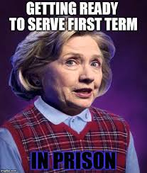 Hillary Meme - bad luck hillary imgflip