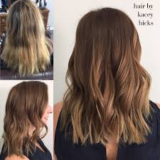 should wash hair before bayalage before after summer blonde to bronze brown root color balayage