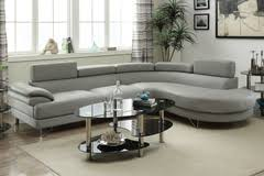 Gray Leather Sectional Sofa Sectional Sofas La Discount Sofa Sectionals