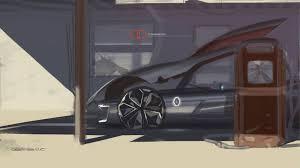 renault trezor renault trezor concept design sketch render by yann jarsalle car