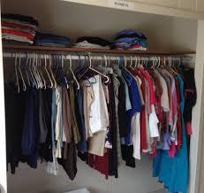 organizing shirts in closet clothing closet picture u2014 steveb interior ideas for organizing