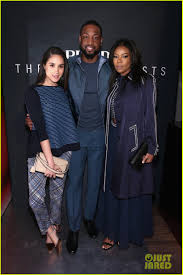 beyonce gets together with gabrielle union u0026 dwyane wade at nba