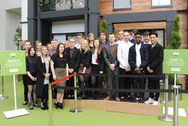 chichester college students have the wow factor at ideal home show