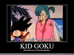 Goku Memes - kid goku anime meme com