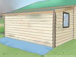 Best Way To Clean Awnings How To Clean Siding Without A Power Washer With Pictures
