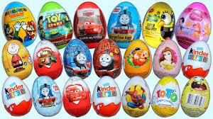 egg kinder 20 eggs kinder disney pixar cars 2