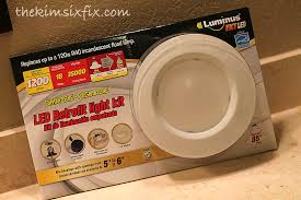 led recessed lighting costco best how to upgrade recessed lights leds tutorial the kim six fix