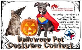 halloween pet costume contest spring branch veterinary hospital