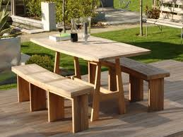 Round Wooden Outdoor Table Round Wooden Outdoor Table