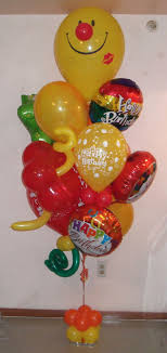 birthday balloon bouquets delivered this is our wonderful medium smiley birthday balloon bouquet