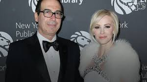 steven mnuchin u0027s wife draws backlash after bragging about trip on