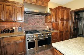 brick kitchen backsplash brick tile kitchen backsplash asterbudget brick feature wall in