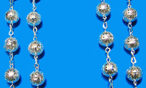 wedding lasso rosary 1288 lasso wedding rosary silver filigree wholesale rosaries
