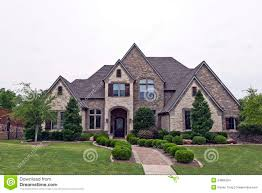 rock and stone homes beautiful two story luxury brick stone