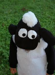 love shaun sheep costume black hoodie