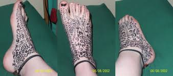foot tattoos by li xiang on deviantart