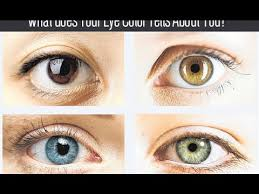 what does your eye color says about your personality