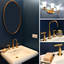 Navy And White Bathroom Ideas - navy blue bathroom and yellow accessories furniture contour bath