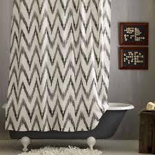 Chevron Pattern Curtains Bathroom Shower Curtain Bath Accessories