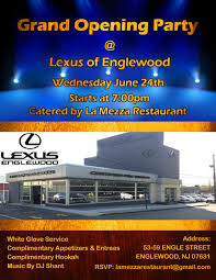 lexus of englewood service englewood nj 07631 entry 23 by harshanadineth for design a flyer for facebook